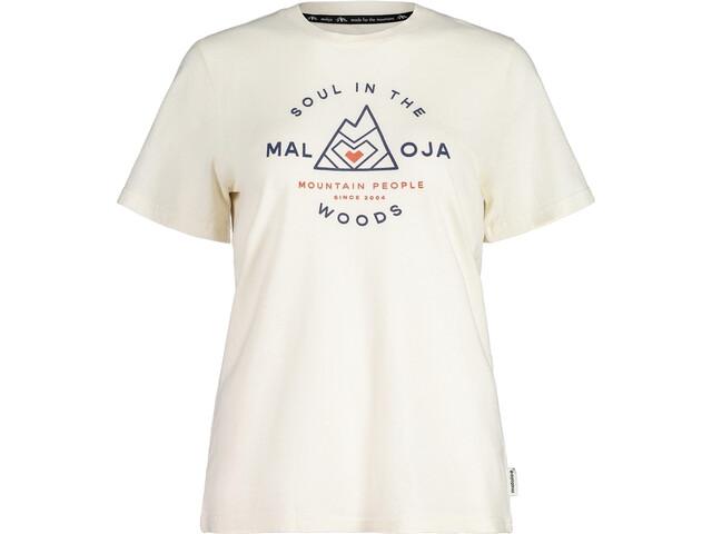 Maloja AlpendostM. SS T-Shirt Women vintage white